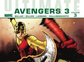 ULTIMATE COMICS AVENGERS 3 #3 cover by Olivier Coipel