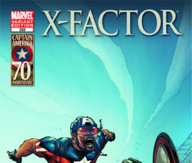 X-Factor (1986) #222, I Am Captain America Variant