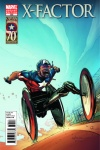 X-Factor (2005) #222 (I Am Captain America Variant)
