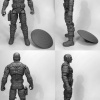 Marvel Select First Avenger Captain America From Diamond Select Toys