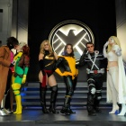 San Diego Comic-Con 2011: 1st Place winners, X-Men Group, at the Costume Contest sponsored by Oxygen