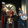 San Diego Comic-Con 2011: Iron Man, Thor, Captain America &amp; Shield Agent at the Marvel Costume Contest