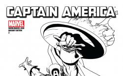 Captain America (2011) #3, Architect Sketch Variant