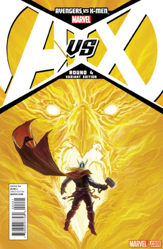 Avengers VS. X-Men #4 Variant Cover by Opena