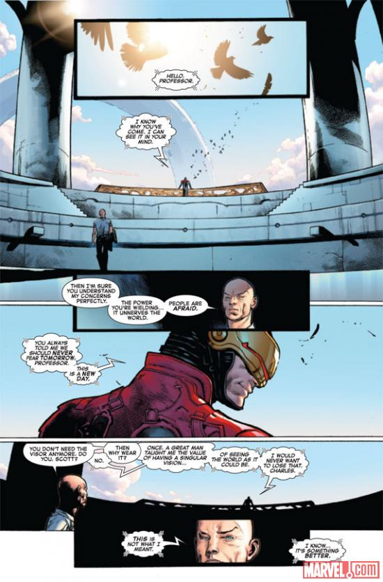 Avengers VS X-Men #6 preview art by Olivier Coipel