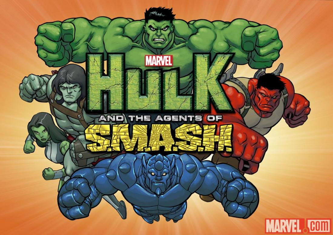 Hulk and The Agents of S.M.A.S.H. promo art