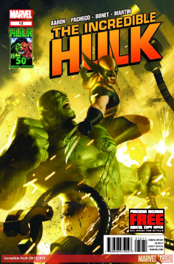 INCREDIBLE HULK 12 (WITH DIGITAL CODE)