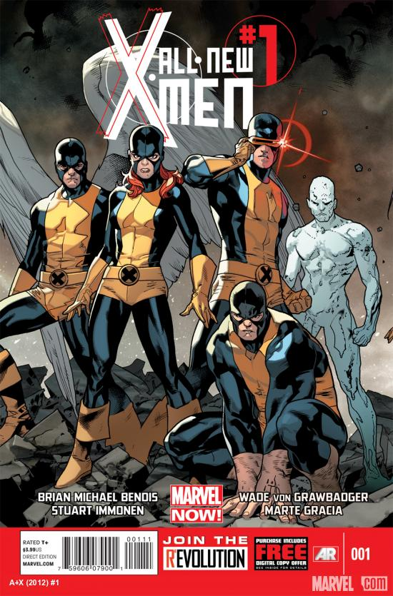All-New X-Men #1 cover by Stuart Immonen