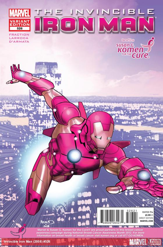 Invincible Iron Man #526 variant cover