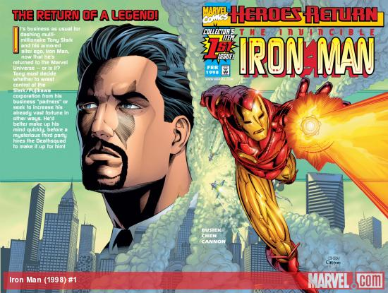 Iron Man (1998) #1 Cover