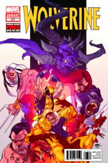 Wolverine (2010) #317 (Ferry Final Variant)