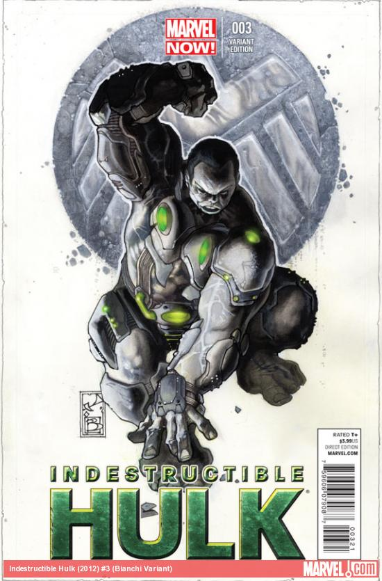 Indestructible Hulk #3 Bianchi Variant
