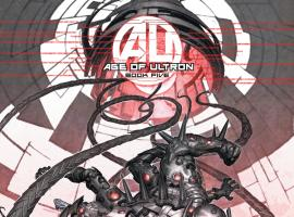 AGE OF ULTRON 5 ULTRON VARIANT (1 FOR 25, WITH DIGITAL CODE)