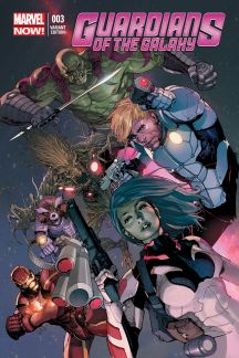 Guardians of the Galaxy (2013) #3 (Yu Variant)