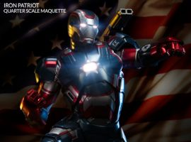 Iron Patriot Model by Sideshow Collectibles