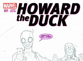 Howard the Duck #1 variant art by Ron Lim