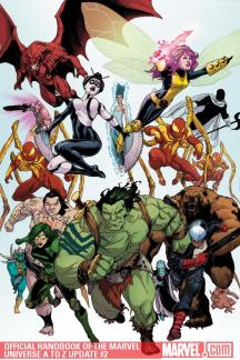 Official Handbook of the Marvel Universe a to Z Update (2010) #2