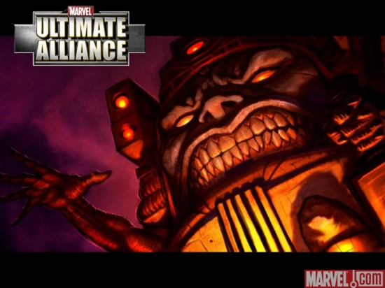 "M.O.D.O.K. in ""Marvel: Ultimate Alliance"""
