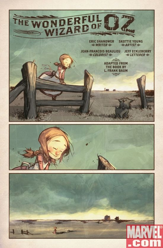 THE WONDERFUL WIZARD OF OZ #1, page 1
