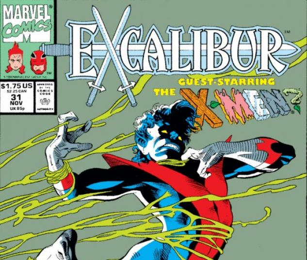 EXCALIBUR #31 COVER