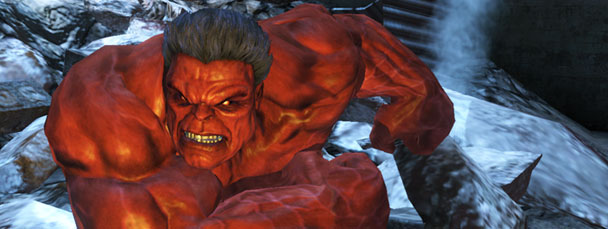 Red Hulk Smashes Xbox 360