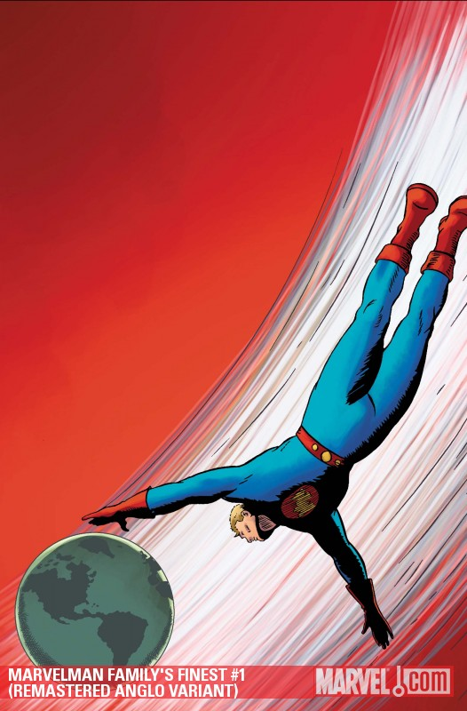 Marvelman Family's Finest (2010) #1 (REMASTERED ANGLO VARIANT)