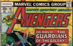 AVENGERS #167 cover by George Perez