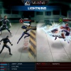 Screenshot of Storm and Cyclops vs. Magneto in Marvel: Avengers Alliance