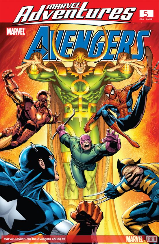 Marvel Adventures the Avengers (2006) #5