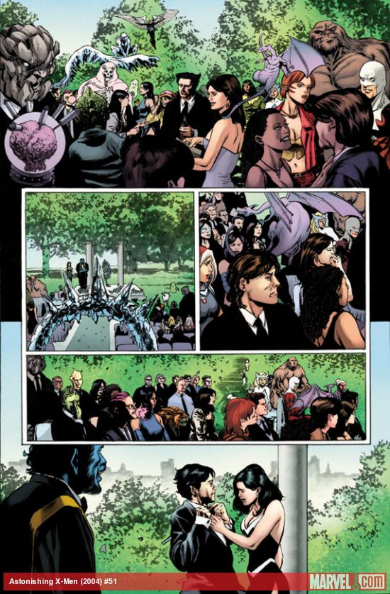 Astonishing X-Men #51 preview art by Mike Perkins