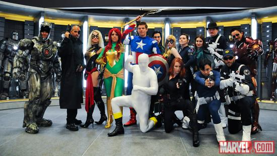 SDCC 2012: Marvel Cosplay Gathering
