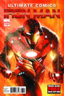 Ultimate Comics Iron Man (2012) #1 (Dell'otto Variant)