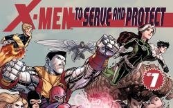X-Men: To Serve and Protect (2010) #1 Cover