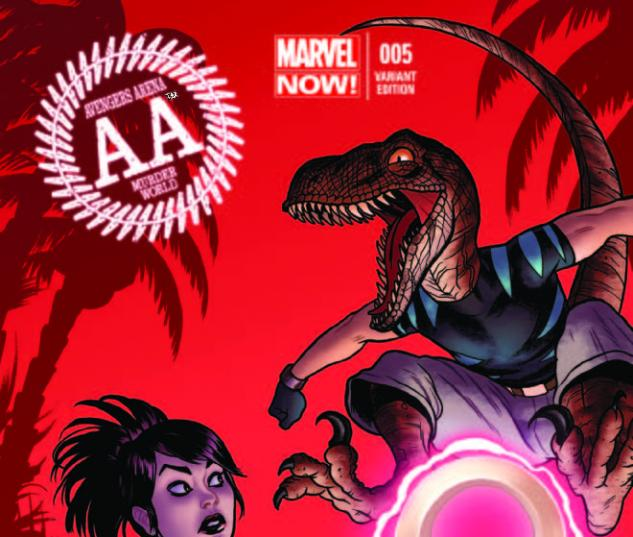 AVENGERS ARENA 5 QUINONES VARIANT (NOW, 1 FOR 50)
