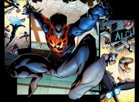 Superior Spider-Man #17 preview art by Ryan Stegman