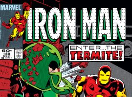 Iron Man (1968) #189 Cover