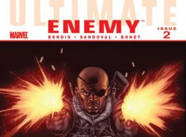 ULTIMATE COMICS ENEMY #2 Cover by Ed McGuinness