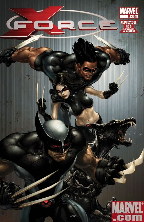 X-Force (2008) #1 (Bloody Variant)