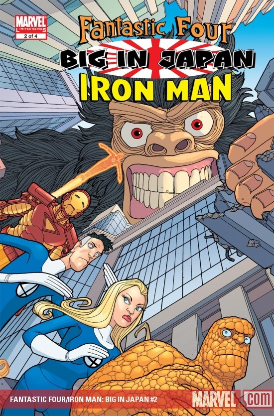 FANTASTIC FOUR/IRON MAN: BIG IN JAPAN #2