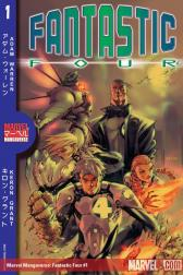 Marvel Mangaverse: Fantastic Four #1