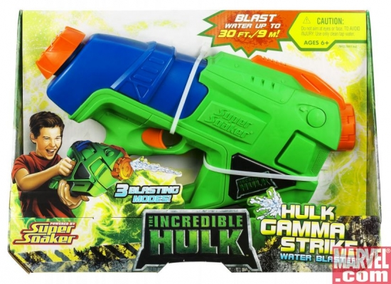 SUPER SOAKER: The Incredible Hulk™ HULK GAMMA STRIKE Water Blaster