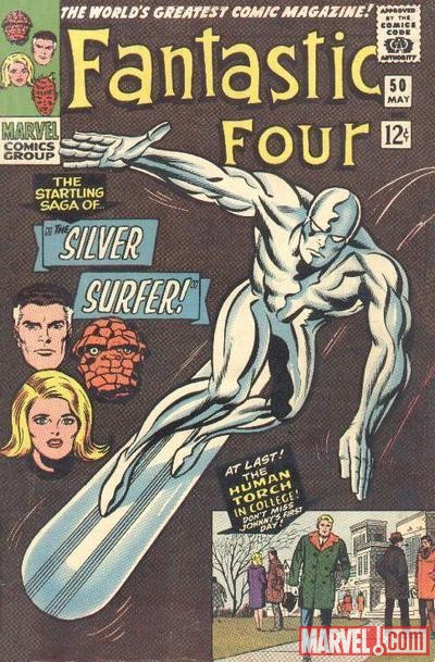 FANTASTIC FOUR #50 (1961) cover by Jack Kirby