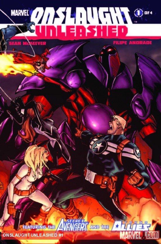 Onslaught Unleashed #1 cover by Humberto Ramos