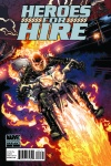 Heroes for Hire (2010) #2 (2nd Printing Variant)