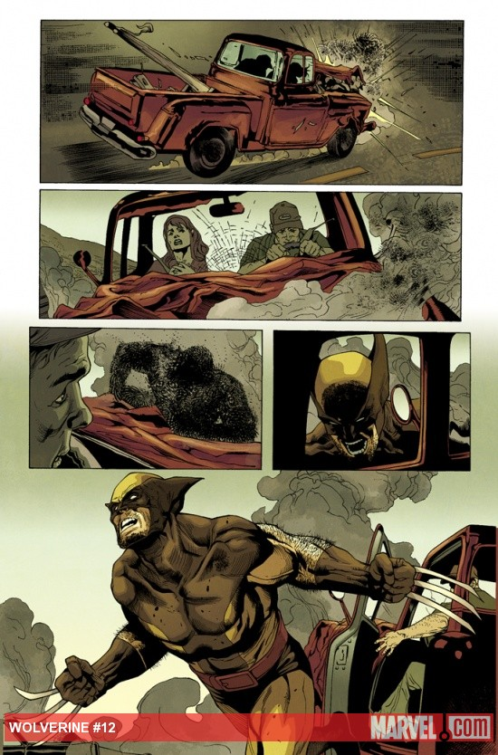 Wolverine (2010) #12 preview art by Renato Guedes