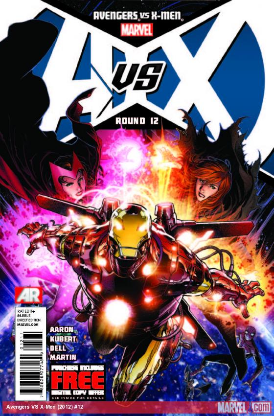 AVENGERS VS. X-MEN 12 (WITH DIGITAL CODE)