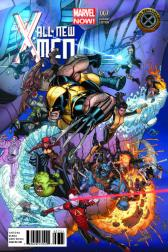 All-New X-Men #7  (Bradshaw X-​Men 50th Anniversary Variant)