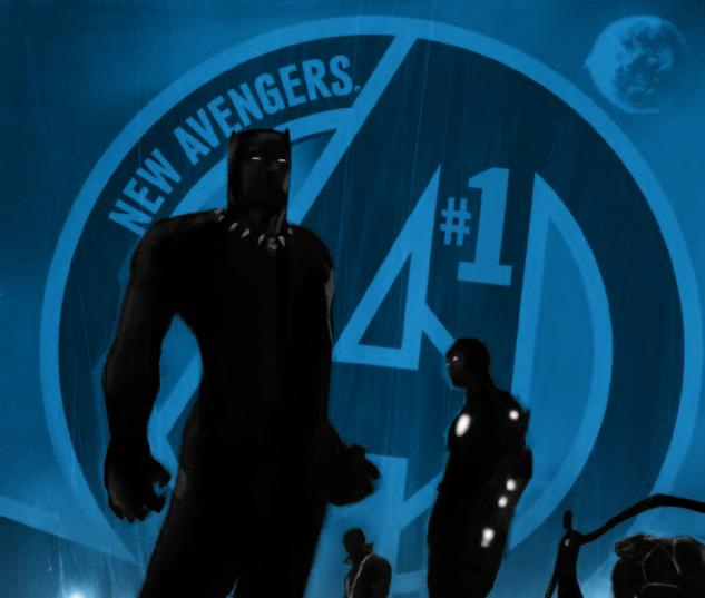 NEW AVENGERS 1 2ND PRINTING VARIANT (NOW, WITH DIGITAL CODE)