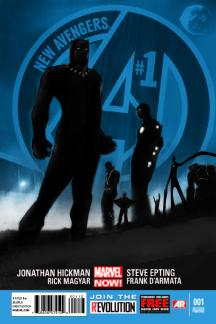 New Avengers #1  (2nd Printing Variant)