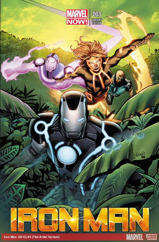 cover from Iron Man (2012) #3 (TBD ARTIST VARIANT)